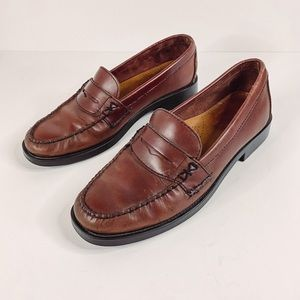 Bass Weejuns 'Katherine ll' Women's Brown Leather Penny Loafer Size 8.5M
